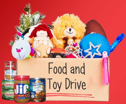 Holiday Toy Drive : Toy food drive davidson realty